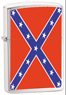 rebel flag zippo lighter