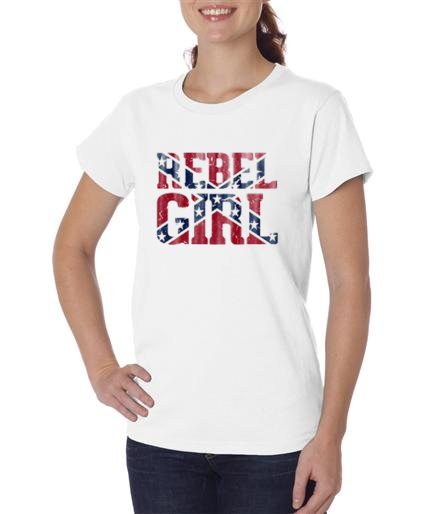 Rebel Girl Short Sleeve T Shirt
